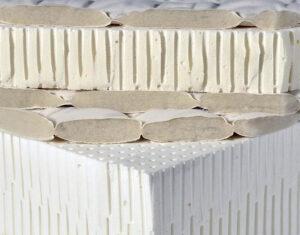 Εσωτερικό του στρώματος Latex