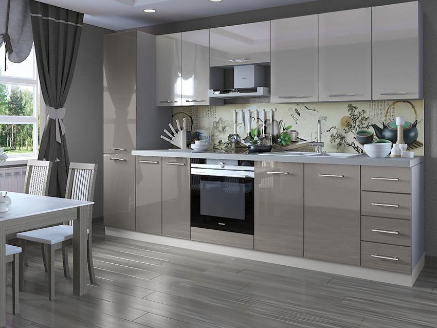 Κουζινα-σε-ευθεια-με-MDF-πορτακια