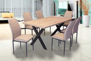 Τραπεζαρία με 6 καθίσματα