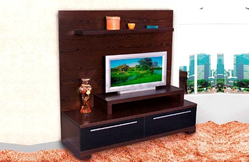Σύνθεση με θέση τηλεόρασης και DVD