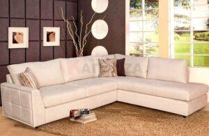 Σαλόνι γωνία με πλενόμενα μαξιλάρια