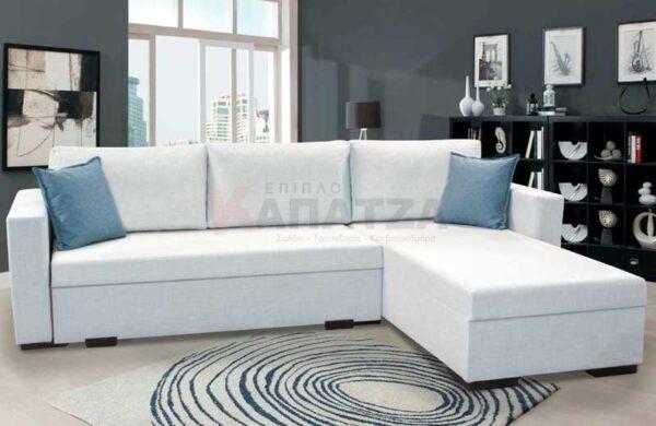Καναπές κρεβάτι προσφορά Γωνιακός καναπές μπαούλο