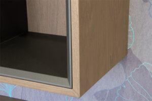 Σύνθεση τηλεόρασης σε δρυ