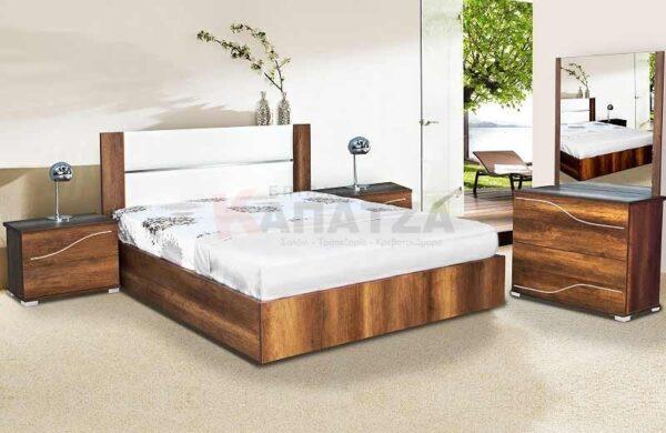 Σετ Κρεβατοκάμαρας Προσφορές Κρεβάτι Κομοδίνα Συρταριέρα