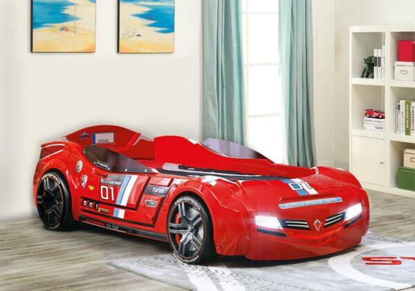 Παιδικό δωμάτιο με Παιδικό κρεβάτι αυτοκίνητο