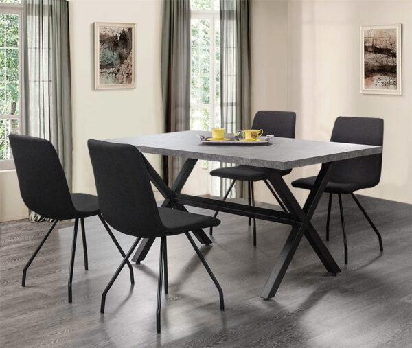 Σετ τραπεζαρίας με 4 καρέκλες