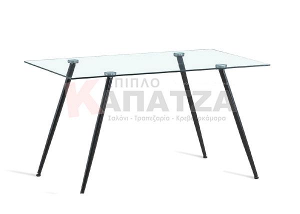 Τραπέζι σαλονιού με γυάλινη επιφάνεια