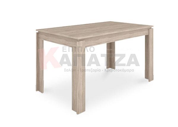 Τραπέζι σαλονιού σε σκούρο δρυ