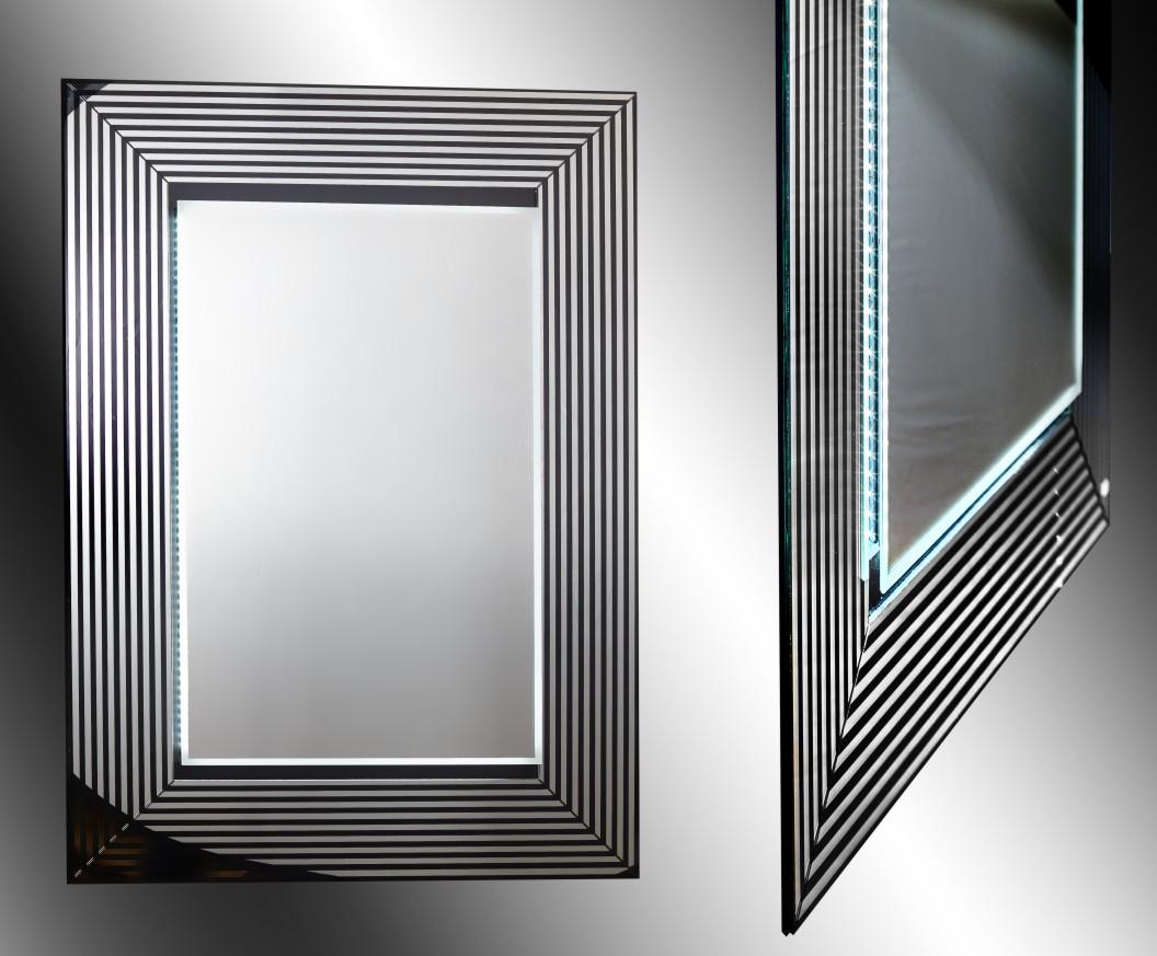 Καθρέπτης τοίχου ορθογώνιος με Φωτισμό Led