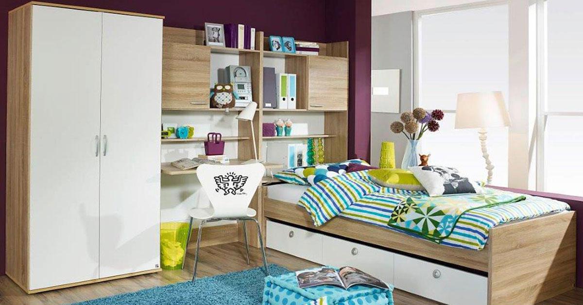Ολοκληρωμένο σετ παιδικού δωματίου