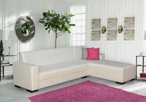Γωνιακός καναπές με αποθηκευτικό χώρο