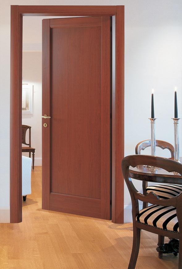 Εσωτερική Πόρτα Ταμπλαδωτή Κερασιά Εσωτερικές Πόρτες Έπιπλο Καπατζά