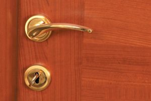 Εσωτερική Πόρτα σε Χρώμα Κερασιά