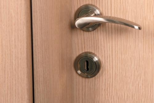 Πόμολο Πόρτας Πόρτα εσωτερική Laminate Ανοιχτό Δρυς Λαμινειτ Πόρτα Εσωτερικού Χώρου Εσωτερικές Πόρτες Έπιπλο Καπατζά