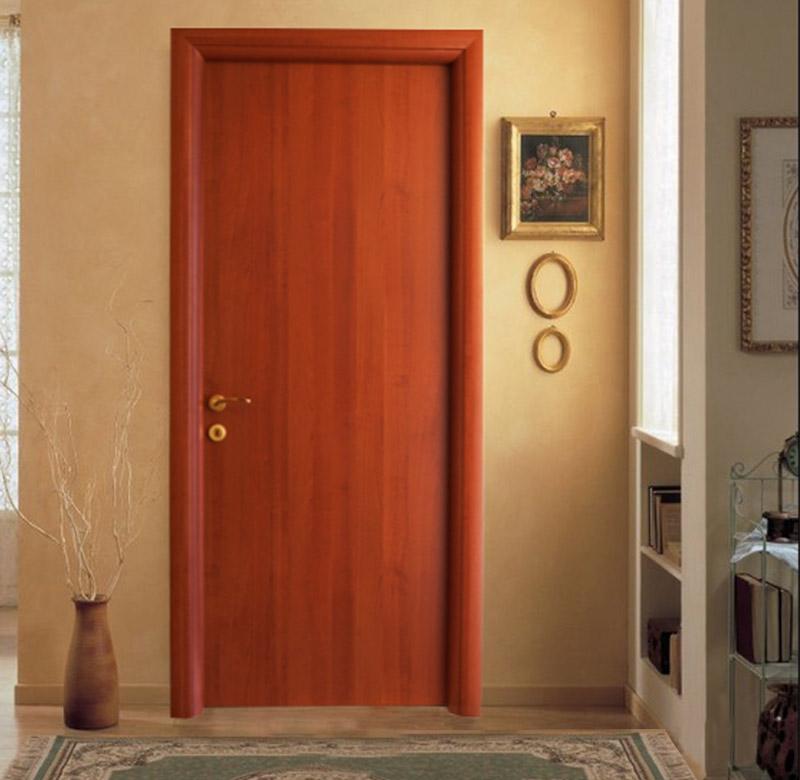Πόρτα Εσωτερική με Κάθετα Νερά σε Κερασιά