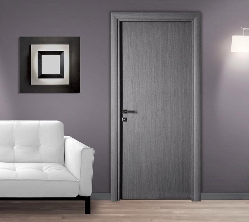 Πόρτα Εσωτερικού Χώρου Laminate Εσωτερική Πόρτα Λαμινειτ Γκρι Εσωτερικές Πόρτες Έπιπλο Καπατζά
