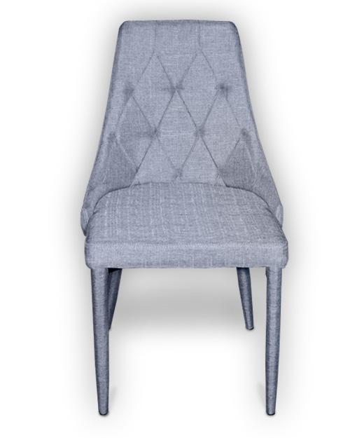 Καρέκλα Μεταλλική Κουζίνας με Ύφασμα Καρέκλες Κουζίνας Καπατζά
