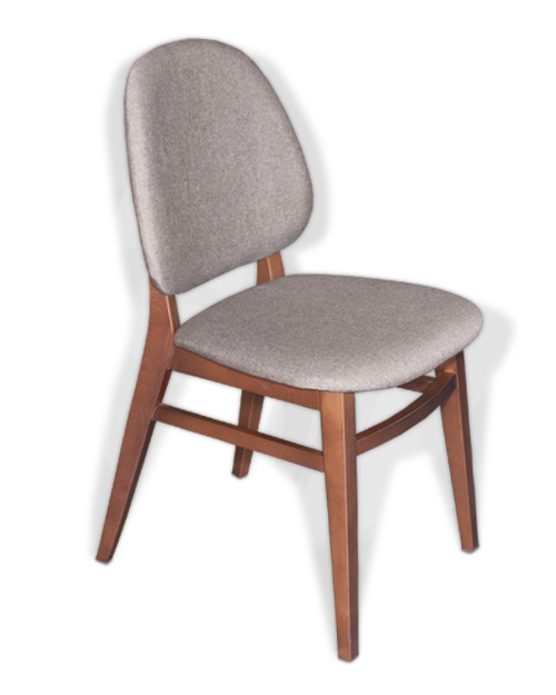 Καρέκλα με Ξύλινο Σκελετό Καρέκλες Τραπεζαρίας Έπιπλο Καπατζά
