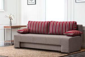 Μοντέρνος καναπές κρεβάτι με αποθηκευτικό χώρο Έπιπλο Καπατζά