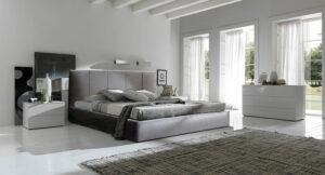Ντυμένο κρεβάτι με αδιάβροχο ύφασμα Κρεβάτια Έπιπλο Καπατζά