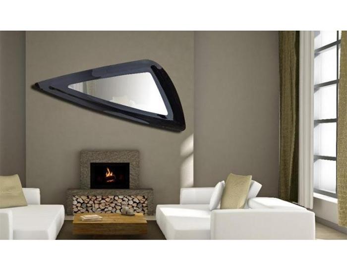 Διακοσμητικός καθρέπτης τοίχου οριζόντιος