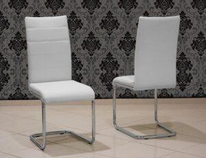 Μοντέρνα καρέκλα κουζίνας με οικολογικό τεχνόδερμα