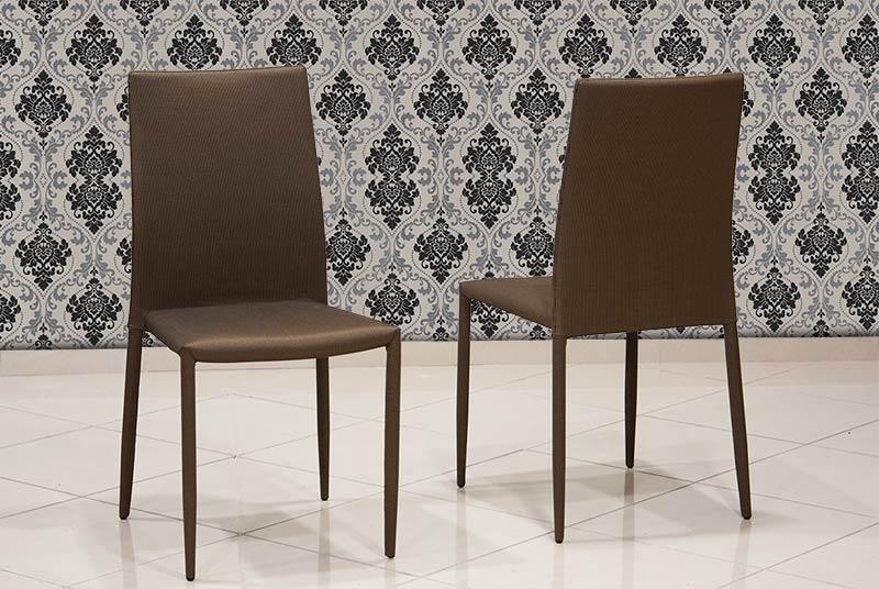 Μοντέρνα καρέκλα κουζίνας με ύφασμα Έπιπλο Καπατζά