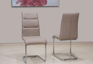 Μοντέρνα καρέκλα τραπεζαρίας με γαλλικό φιτίλι