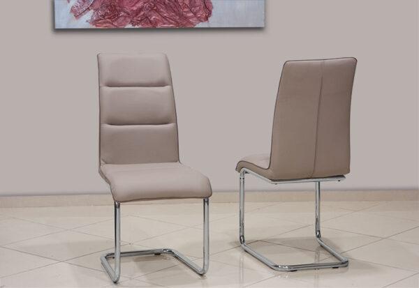 Μοντέρνα καρέκλα τραπεζαρίας με γαλλικό φιτίλι Έπιπλο Καπατζά