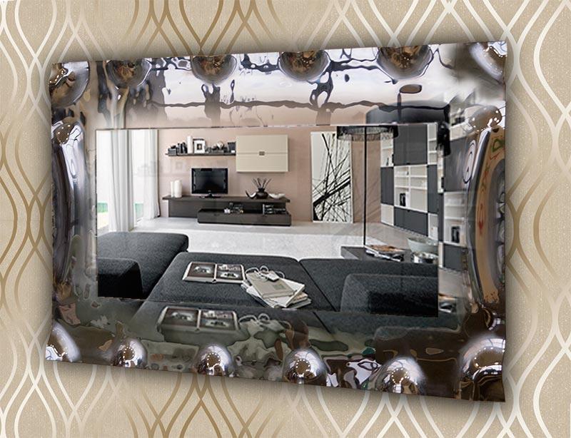 Καθρέπτης τοίχου ορθογώνιος διακοσμητικός Έπιπλο Καπατζά