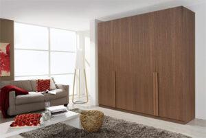 Τετράφυλλη ντουλάπα σε ξύλο δρυός