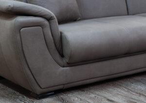 Γωνιακό σαλόνι με μηχανισμό κρεβατιού