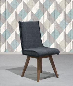 Καρέκλα σε Δρυ με αλέκιαστο ύφασμα