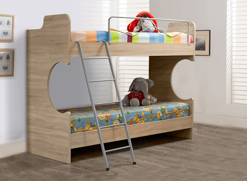Παιδική κουκέτα σε διάφορα χρώματα Έπιπλο Καπατζά