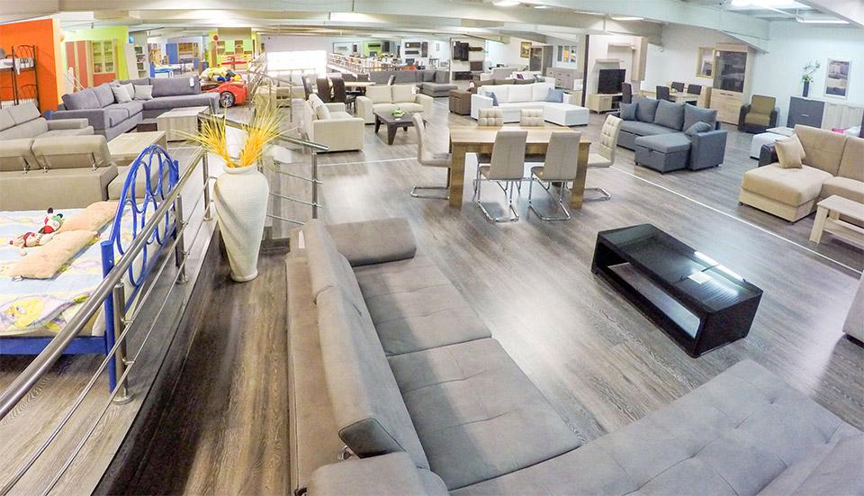 Εκθεσιακός χώρος Έπιπλο Καπατζά Γωνιακοί Καναπέδες Κρεβάτια Σύνθετα Τηλεόρασης
