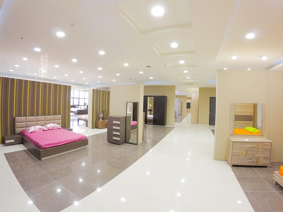 Εκθεσιακός χώρος Έπιπλο Καπατζά Διπλό Κρεβάτι με Αποθηκευτικό Χώρο