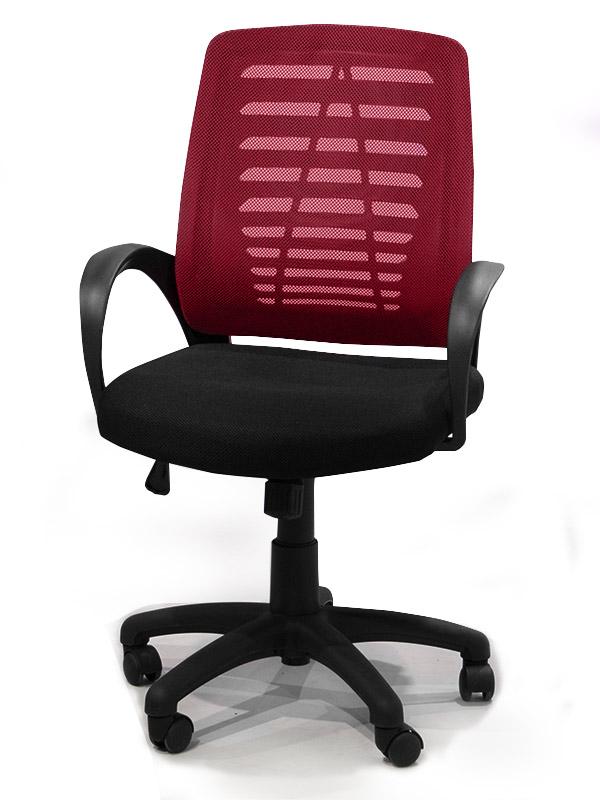 Κάθισμα γραφείου με ρόδες και μπράτσα Έπιπλο Καπατζά
