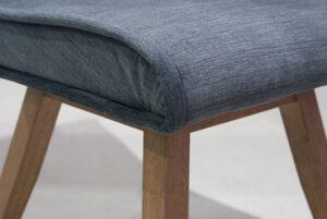 Καρέκλα σε οξιά με αλέκιαστο ύφασμα