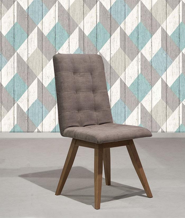 Καρέκλα τραπεζαρίας με αδιάβροχο αλέκιαστο ύφασμα