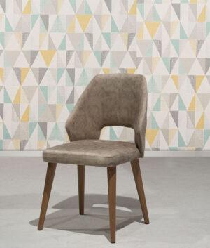 Καρέκλα τραπεζαρίας σε μοντέρνο σχεδιασμό