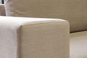 Μοντέρνο γωνιακό σαλόνι με αδιάβροχο ύφασμα
