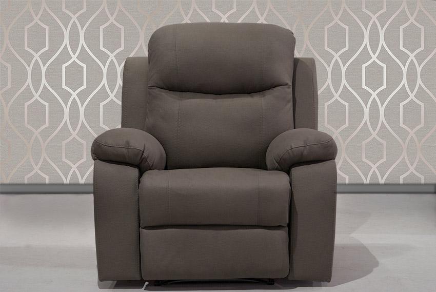 Πολυθρόνα με ανάκλιση και υποπόδιο Έπιπλο Καπατζά