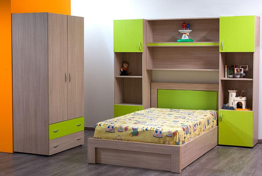 Σετ παιδικού δωματίου σε διάφορα χρώματα Έπιπλο Καπατζά