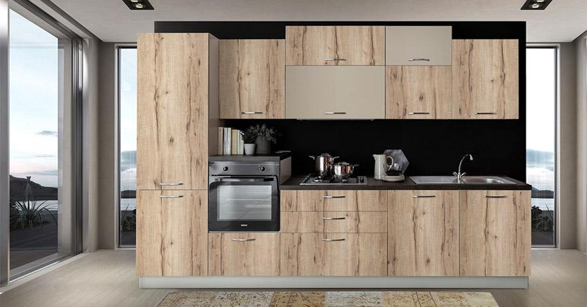 Έπιπλο Καπατζα Κατηγορια κουζινες Έτοιμη κουζίνα με ηλεκτρικές συσκευές