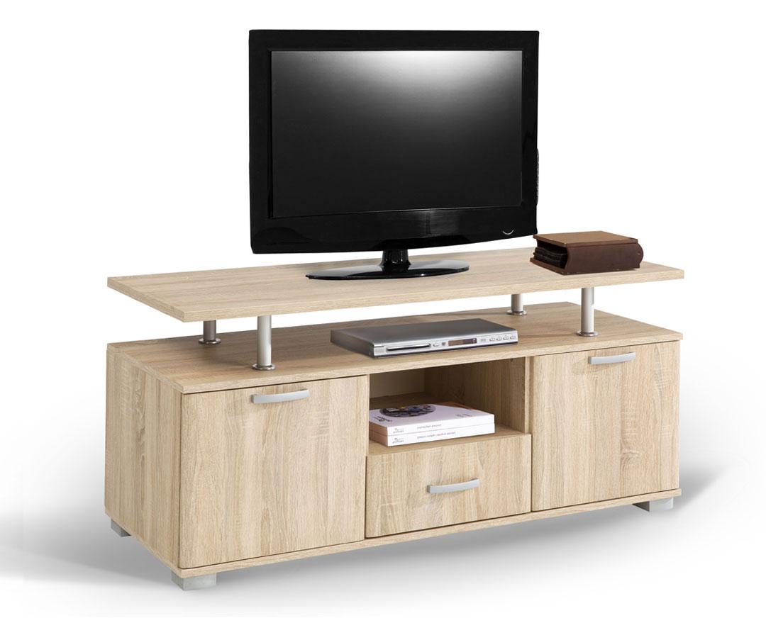 Έπιπλο τηλεόρασης σε φυσικό χρώμα