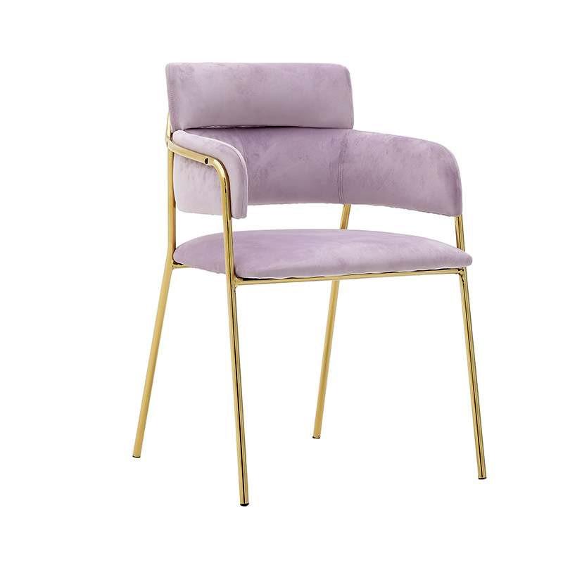 Βελούδινη καρέκλα τραπεζαρίας