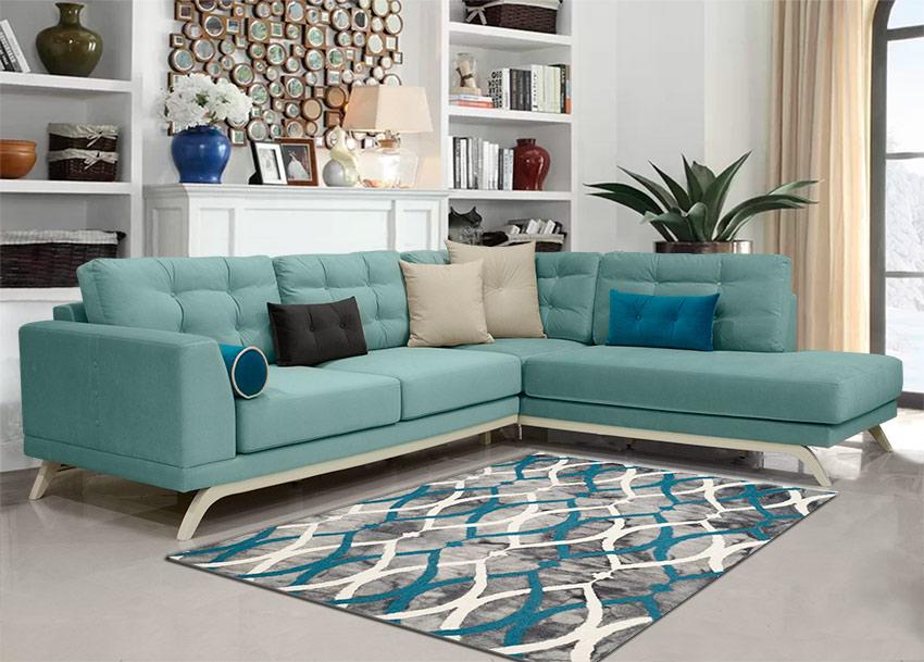 Καναπές γωνία σε νεοκλασικό στυλ