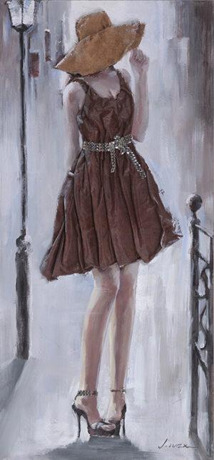 Πίνακας ελαιογραφία με ύφασμα σε καμβά