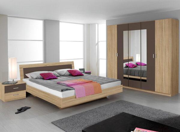 Επιπλα κρεβατοκαμαρας: Ντουλάπα-Κρεβατι-Κομοδίνα