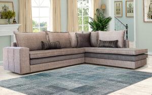 Καναπές γωνία μοντέρνου σχεδιασμού